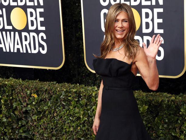 Aniston on palkittu roolistaan Frendeissä Emmyllä, Golden Globella ja SAG-palkinnolla.