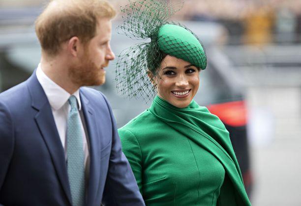 Prinssi Harry ja herttuatar Meghan ovat asuneet Yhdysvalloissa jo lähes vuoden.