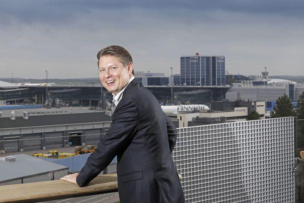 Topi Manner on toiminut Finnairin toimitusjohtajana vuodesta 2018 alkaen.