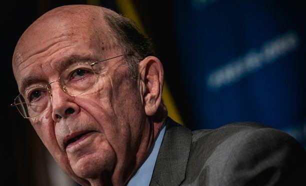 Tuontitulleista ilmoitti USA:n kappaministeri Wilbur Ross.