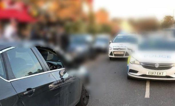Epäilty saatiin kiinni Lontoon itäpuolella takaa-ajon päätteeksi.