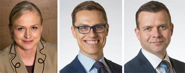Elina Lepomäki ilmoittautui jo aiemmin haastamaan Alexander Stubbin kokoomuksen puheenjohtajana. Nyt kisaan liittyi myös Petteri Orpo.