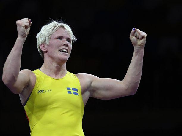 Jenny Fransson oli ennen käryään yksi Ruotsin ensi kesän olympiatoivoista.