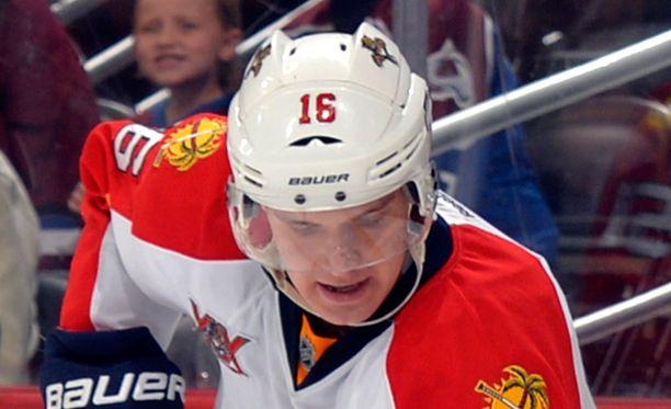 Aleksander Barkov sai viime yönä lähes 20 minuuttia jääaikaa.