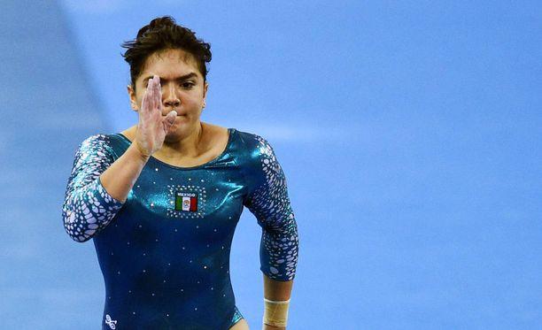 Alexa Moreno on edustanut maataan huipputasolla jo vuosia. Kuva vuodelta 2014.