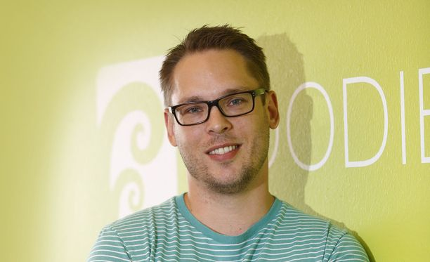 Kalle Koutajoki luotsaa perustamaansa Digital Foodieta.