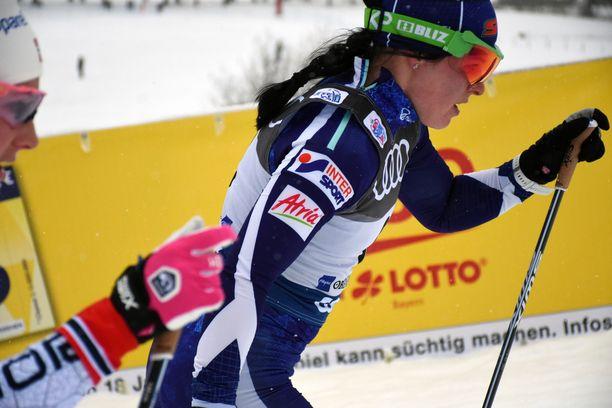 Krista Pärmäkoski oli viides Tour de Skin neljännellä etapilla keskiviikkona Saksassa.