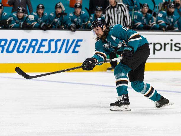 Erik Karlsson on jälleen sivussa loukkaantumisen vuoksi.
