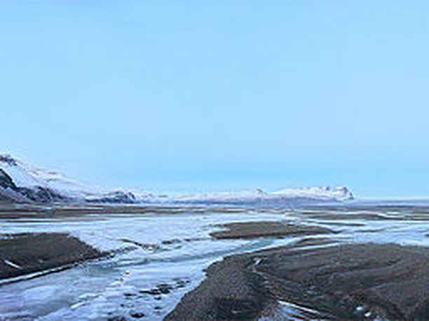 Turma tapahtui Núpsvötnin jäätiköllä.