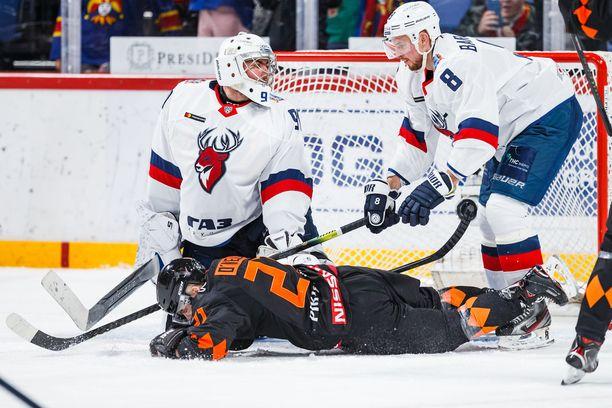 Torpedo Nizhni Novgorodin joukkueessa on ilmennyt uusia koronavirustartuntoja. Kuva kaudelta 2019-2020.