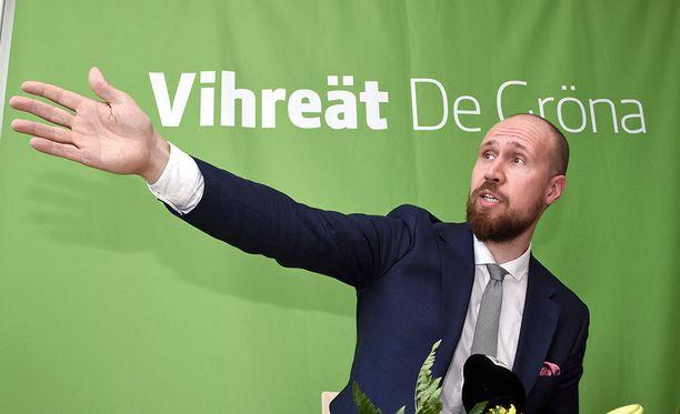 Vihreillä on potentiaalia kannatuksen nousuun, mutta pystyykö se siihen puheenjohtaja Touko Aallon johdolla?