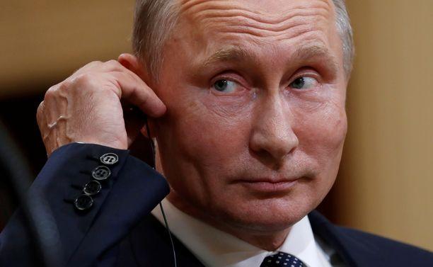 Vladimir Putin ei kannata INF-sopimuksesta luopumista.