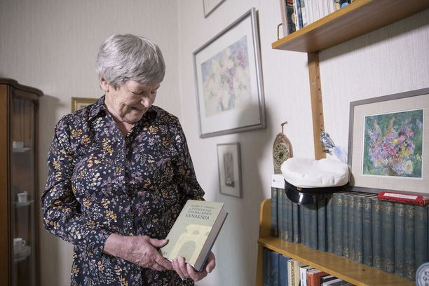 Maija Sarakontu, 83, kirjoitti tänä vuonna viidennen laudaturinsa.