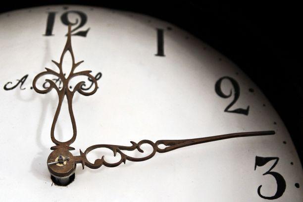 Kellojen siirtäminen on jokavuotinen puheenaihe.