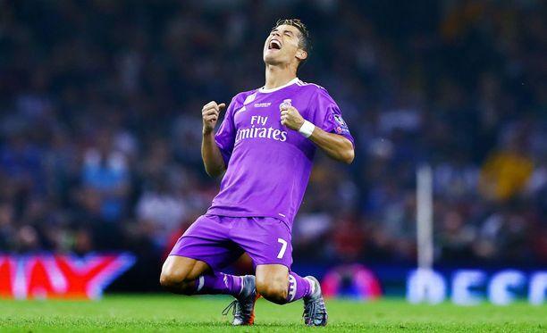 Cristiano Ronaldo ratkaisi Mestarien liigan loppuottelun.