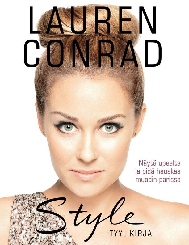 Lauren Conradin kirjan suomenkielisen version kansi.