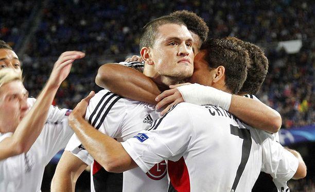 Leverkusen sokeerasi Barcelonaa avausjaksolla.