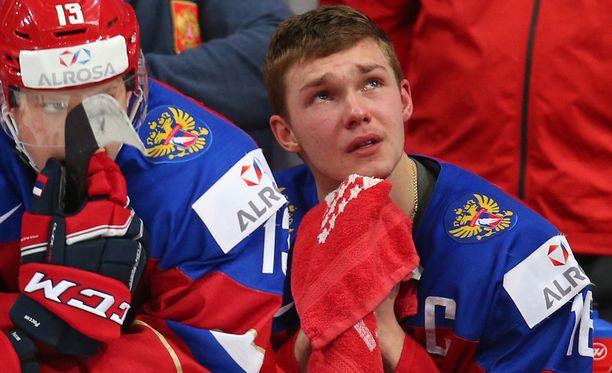 Vladislav Kamenev herkistyi, kun Suomi voitti tiistaina nuorten MM-finaalin jatkoajalla 4-3.