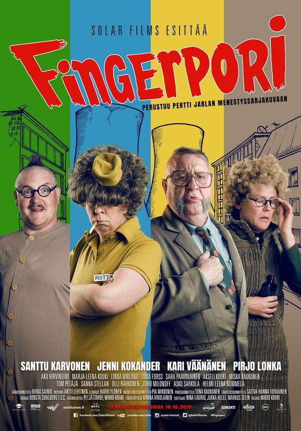 Fingerpori-elokuva saa ensi-iltansa 18.10.2019.