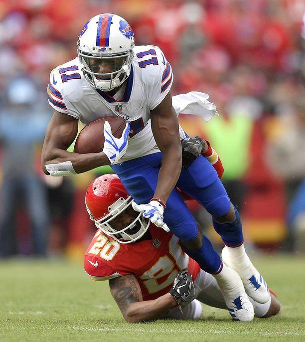 Zay Jones debytoi viime kaudella Buffalo Billsin paidassa.
