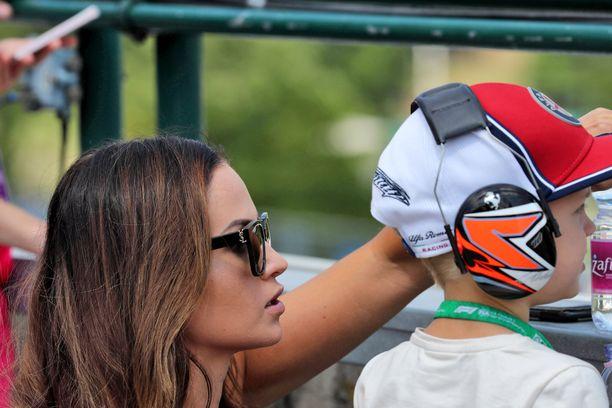 Robin Räikkönen innostui kartingista tiettävästi viime vuonna.
