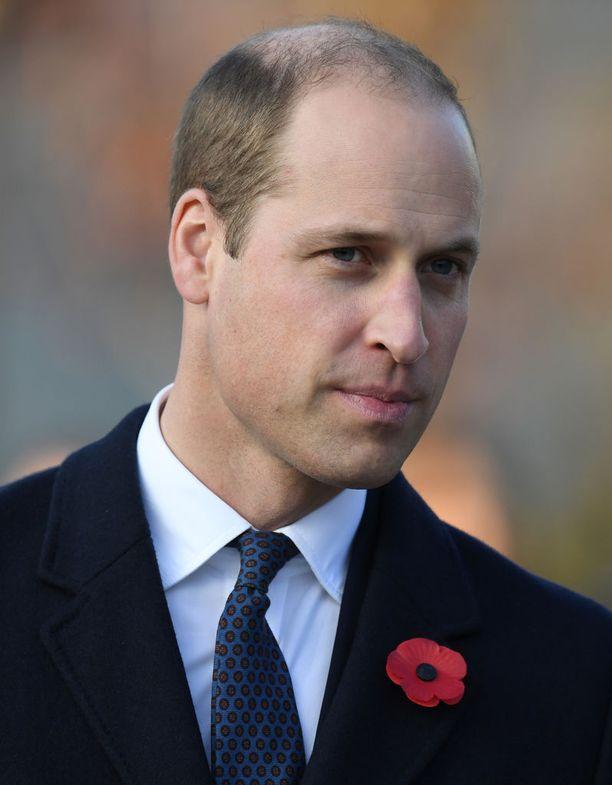 Tältä prinssin tukka näytti joulukuussa 2017.