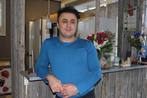 Nouraddin Gajin Masoumi toimii yrittäjänä.