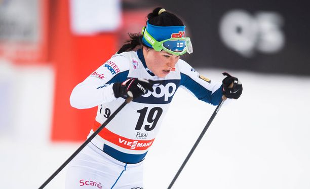 Krista Pärmäkoski on naisten sprintin erähiihtojen ainoa suomalainen.