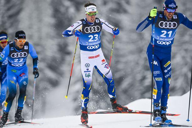 Tour de Ski oli Calle Halfvarssonille tuskaisa. Hän päätti jättää leikin kesken.