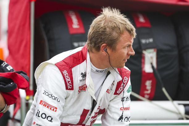 Kimi Räikkönen on tämän kauden paras starttaaja.