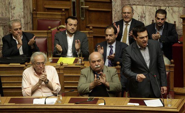 Kreikan hallitus 11. heinäkuuta.