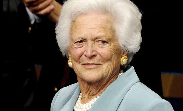 Barbara Bush on Yhdysvaltojen entisen presidentin George Bushin puoliso.