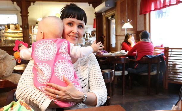 Kristiina Salonen toi baby bluesin esiin alunperin blogissa SDP:n sivuilla. Kuva on arkistokuva vuodelta 2017.