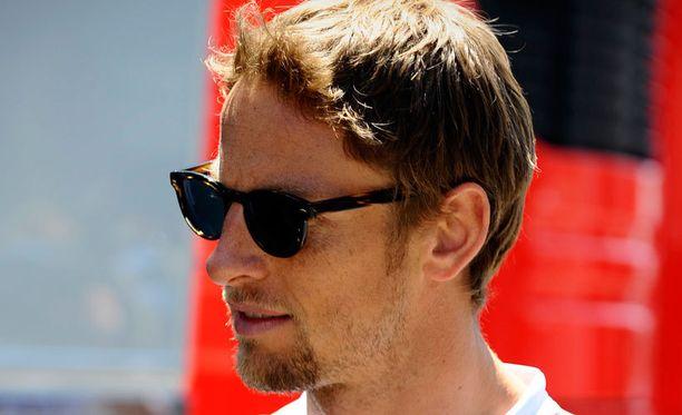 Jenson Button on ihmeissään.