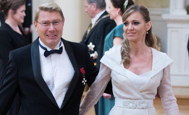 Marketa Häkkinen ja Mika Häkkinen ovat olleet naimisissa vuodesta 2016.
