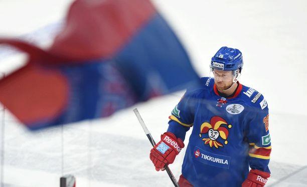 ZSKA teki voittomaalin Jani Ridan jäähyn aikana.