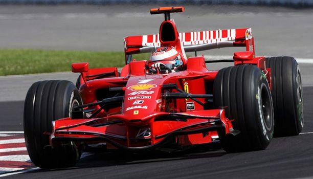 Kimin mieleen eivät Ferrarin renkaat istu.