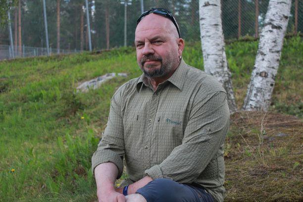 Timo Rautiainen sanoo perheen olevan hänelle tärkein asia elämässä.