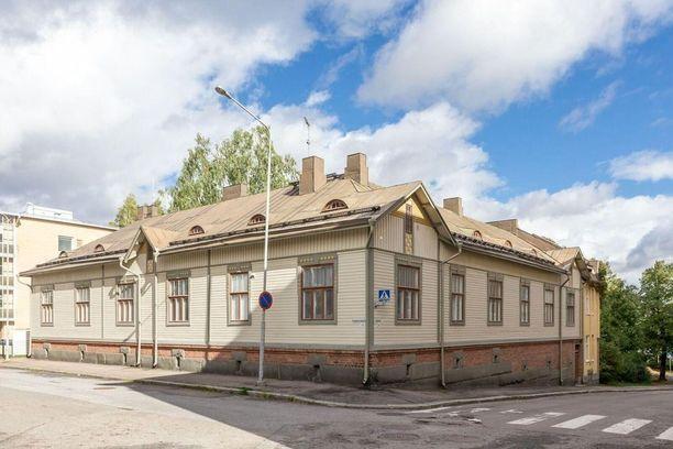 Tampereen Amurin arvopuutalo on rakennettu vuonna 1912.