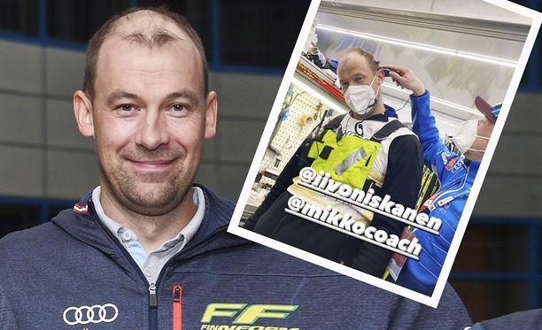 Mikko Virtasesta tuli täyskalju.