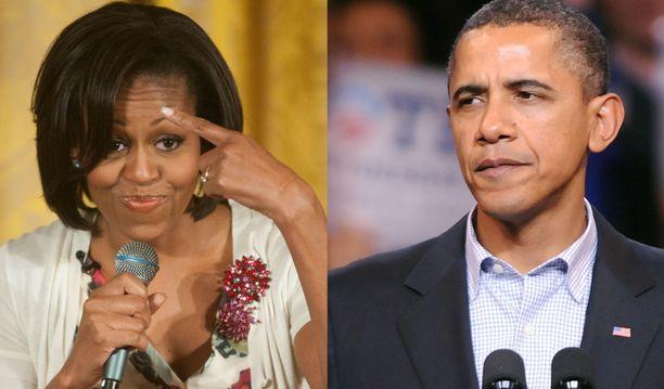 Myös Obaman perheessä on käyty kädenvääntöä ajankäytöstä.