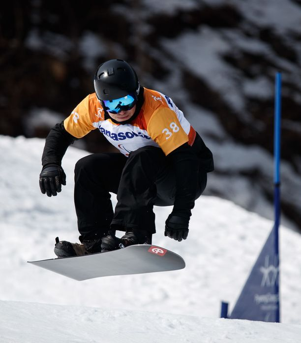 Matti Suur-Hamari voitti kultaa ylivoimaisesti.