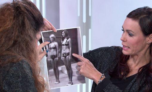 Tältä näytti Riitta Väisänen vuonna 1976. Videolta näkee, miten hän kuvaan reagoi.
