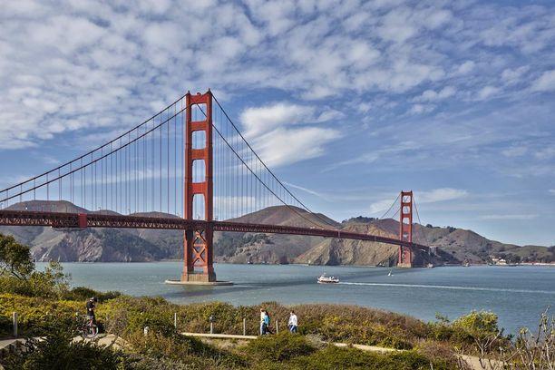 San Franciscon Golden Gate on varmasti maailman tunnetuimpia siltoja.
