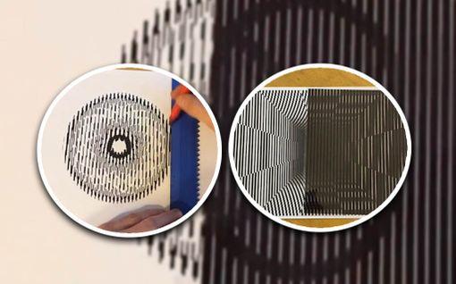 Brittimiehen optinen illuusio ihastuttaa somessa - apuna vain kynä ja paperia