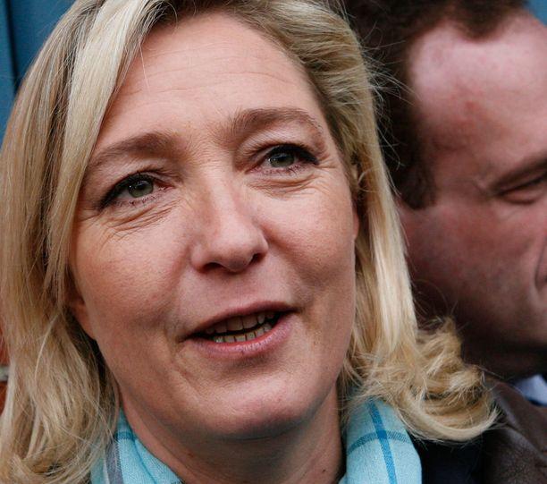 Marine Le Penin lähipiiri on sekaantunut veroparatiiseihin.