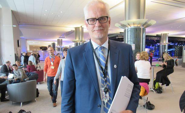 Petri Sarvamaan (kok) mukaan Suomi on jättämässä hakemuksen avusta tukitoimille Euroopan globalisaatiorahastolle.