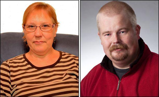 Itsenäisyyspuolueen Riitta Virtanen ja keskustan Juhani Uronen jäivät ilman ääniä.