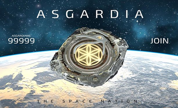 Asgardia on saanut yli 100 000 kansalaisuushakemusta.