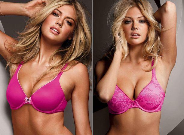Pinkkiä näkyy niin vaate- kuin alusvaatemuodissa tänä keväänä.